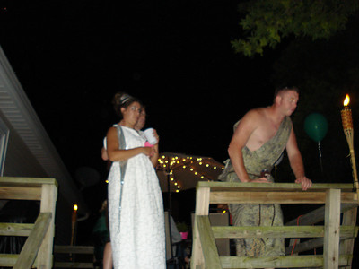 Luke and Dani's Toga Party Bridal Shower July 2008