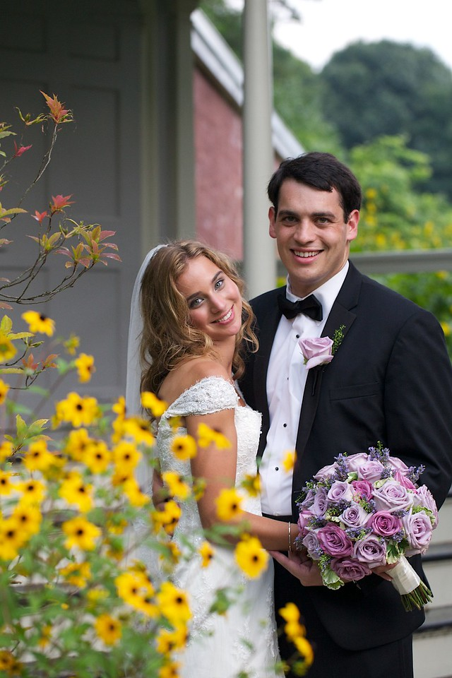 Amanda and Max at Lyman Estate