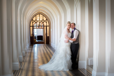 Lyndsey & James at Stanbrook Abbey Worcestershire