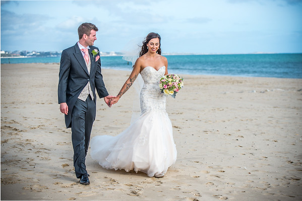 Lynsey & Callum Wedding, Compton Acres, Poole