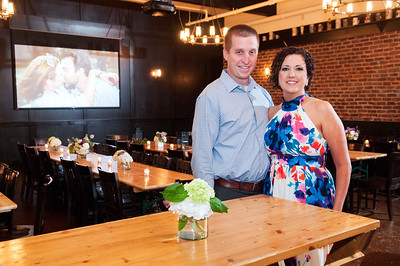 Jesse & Tracy Wedding Reception @ Olde Mecklenburg Brewery 4-30-16 by Jon Strayhorn