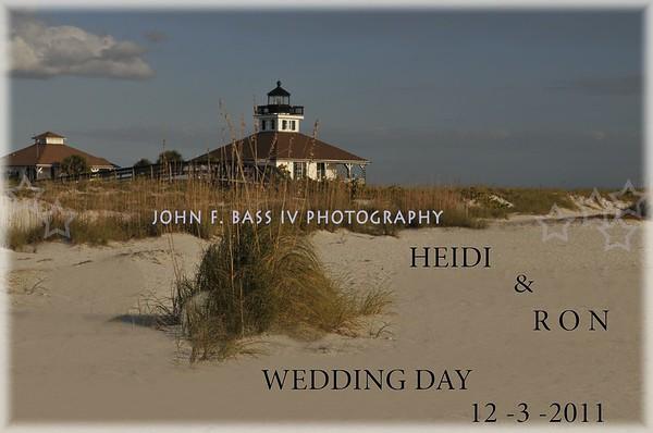 MR.MRS. HEID& RON  WEDDING DAY