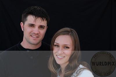 Cute portrait of the couple