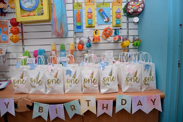 Madeleine 1st Birthday