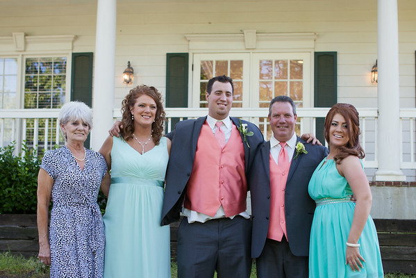 Groom & Family