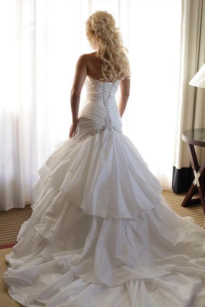 Anticipation of a dream wedding