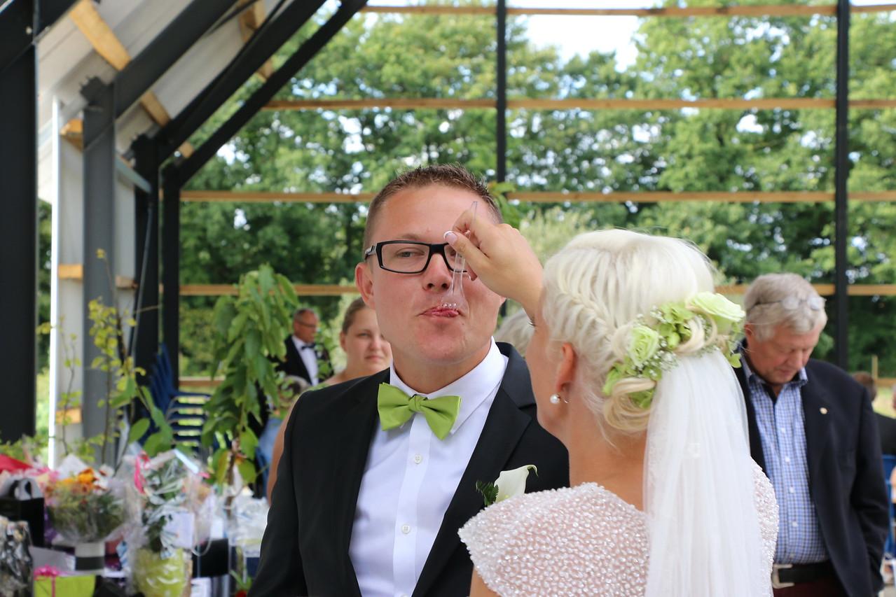 Malene og Martins Bryllup