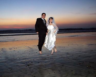 Mancia Bride & Groom Beach Photosession