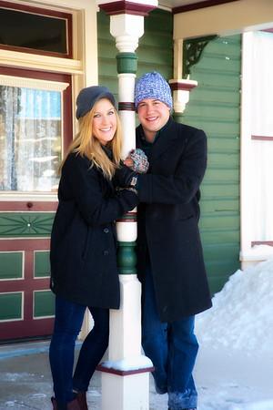 Mandy, Zach, engagement