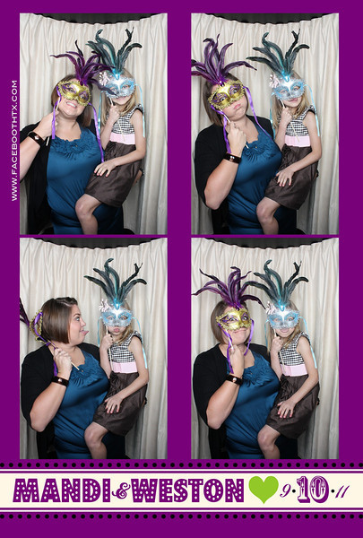 Mandi & Weston's Wedding Reception