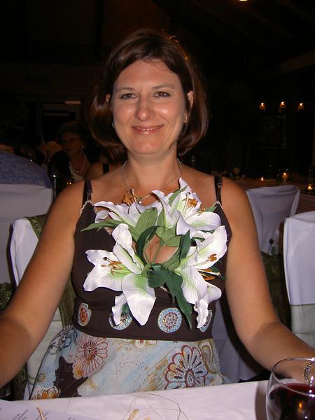 Jen gets floral