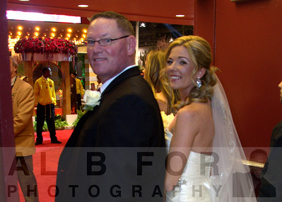 Mar 4, 2015 PHS Philadelphia Flower Show, Nicole and Bob got married!