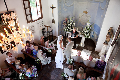 Nestled in a small Pueblo Blanco style village in Marbella lays the beautiful La Virginia Chapel. It was in this Chapel that Natalie and Stephen exchanged their rings and very emotional vows. After a walk around the cobble streets for some photographs it was back to a private villa in Nueva Andalucia to enjoy some cocktails and canapes. As the sun started to set it was onto the El Fuerte Hotel in Marbella for dinner overlooking the sea. For a tearful first dance and father and bride dance it was back to the villa. Celebrations were enjoyed into early hours of the morning. A very big thank you to Lizzie of Marriage Wedding Services for her planning for a most wonderful day.