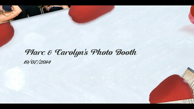 Marc & Carolyn's Photo Booth