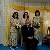 """This was my side of the wedding party before the wedding in what was called """"The Yellow Room""""."""