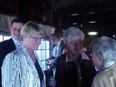 Welcome in the bar - Jacqueline's mother and both grandma's