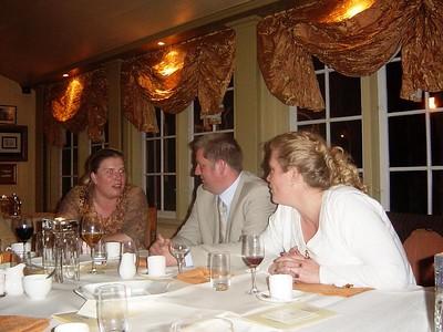 Marcel & Jacqueline's wedding dinner
