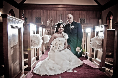 Marea and Chris Wedding Day