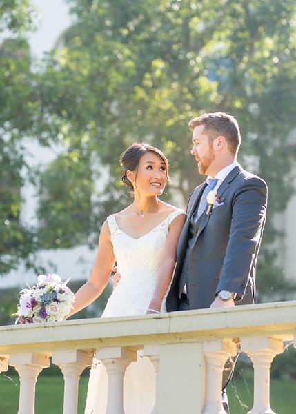 Margaret & Devin | Pasadena Ambassador Campus Wedding