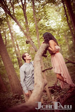Pilcher Park Engagement Photos-2
