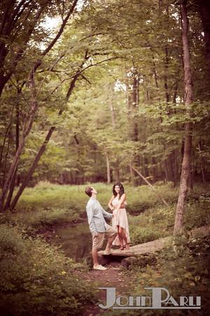 Pilcher Park Engagement Photos-33