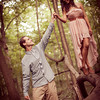Pilcher Park Engagement Photos-12