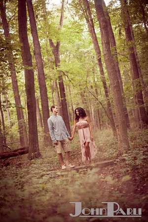 Pilcher Park Engagement Photos-25