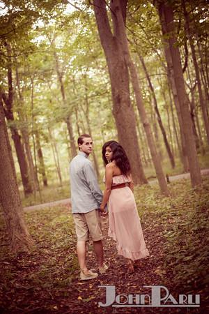 Pilcher Park Engagement Photos-21