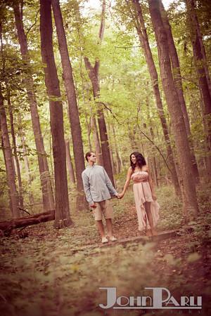 Pilcher Park Engagement Photos-24
