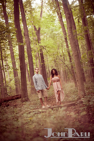 Pilcher Park Engagement Photos-26