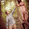 Pilcher Park Engagement Photos-13