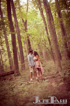 Pilcher Park Engagement Photos-27