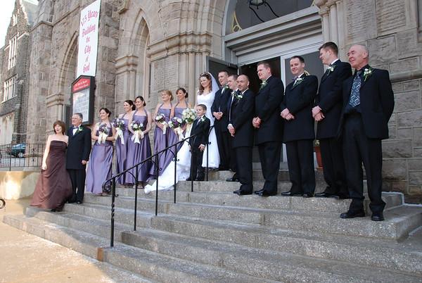 Marian McGill - George McFeeters Wedding 3-10-07
