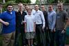 Cousins: David, James, Mike, Liam, Joe, Russell, Robert & Ben