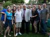Barry with all his grandchildren plus David