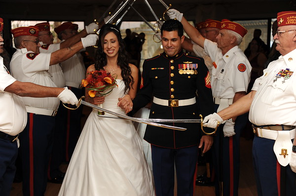 Marine Wedding Not contracted Just candids 11-19-11