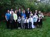 The entire 17-member new J&C Thomas family