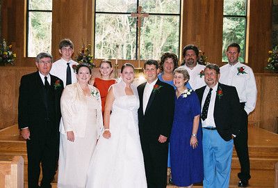 Mark and Colleen Wedding, Aug 04