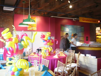 Rehearsal Dinner at the Children's Museum