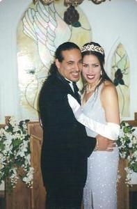 Marlon & Lisa' Wedding Picture