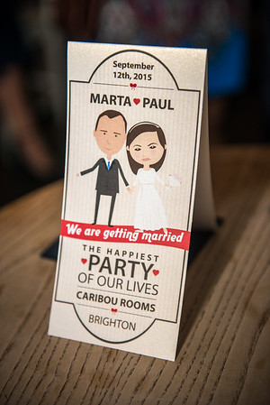 Marta & Paul Wedding 210815