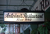Antoine's Restaurant, an old New Orleans tradition and a great place for our rehearsal party!