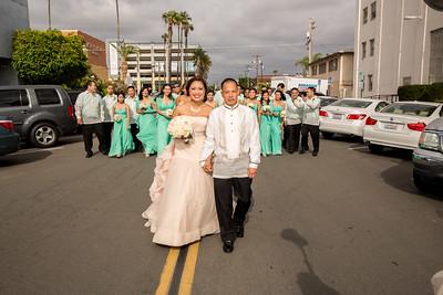 Wedding Day + Entourage
