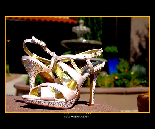 Brides and Their Shoes