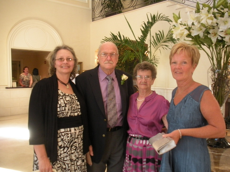 Aunt Shari, Grandpa, Grandma, Linda - Mother of the Groom