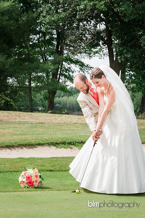 Melissa & Matt Married at Crotched Mountain Golf Club-9434_07-23-16 - Photos by BLM Photography. Photographer: Lyndsie Lord