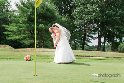 Melissa & Matt Married at Crotched Mountain Golf Club-9440_07-23-16 - Photos by BLM Photography. Photographer: Lyndsie Lord