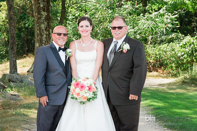 Melissa & Matt Married at Crotched Mountain Golf Club-9353_07-23-16 - Photos by BLM Photography. Photographer: Lyndsie Lord