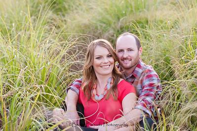 Becca Estrada Photography - Matt and Gretchen Engagement at Peter's Canyon-24