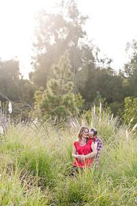 Becca Estrada Photography - Matt and Gretchen Engagement at Peter's Canyon-15